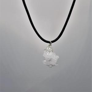 Pendentif Cristal de Roche du Maroc / Quartz