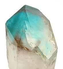 Ajoite quartz