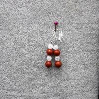 Boucle d oreille pierre 3
