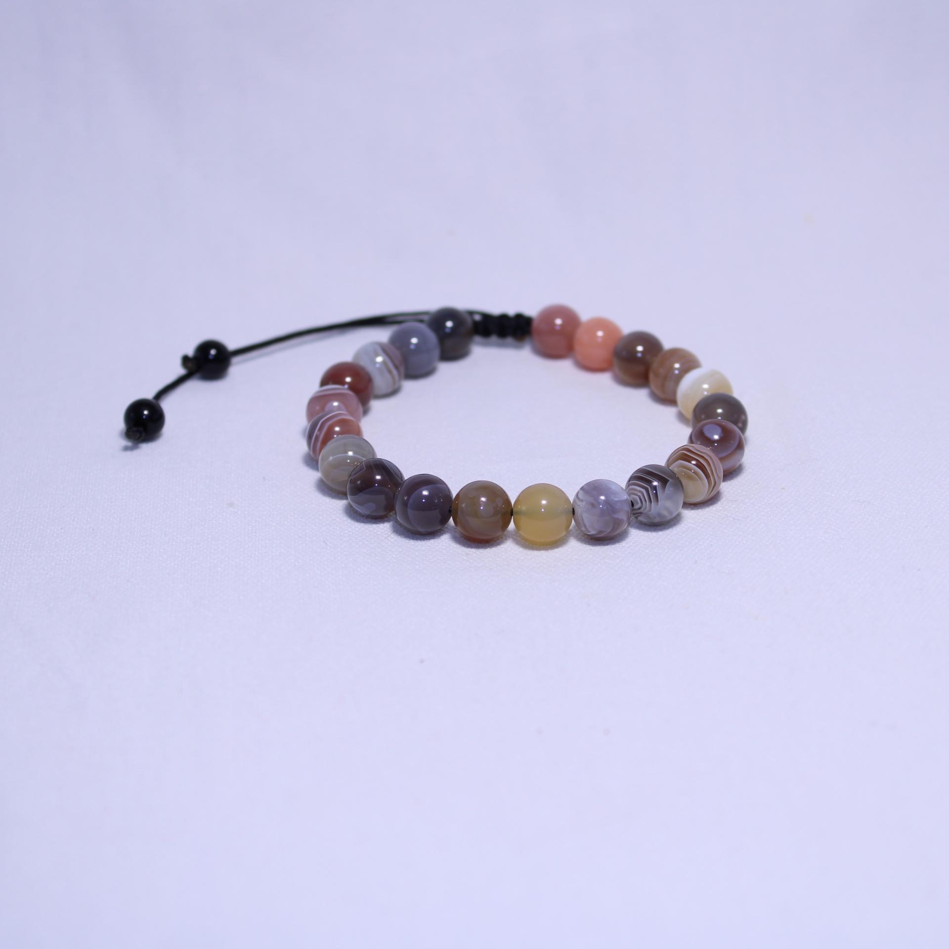 Bracelet agate i24 3