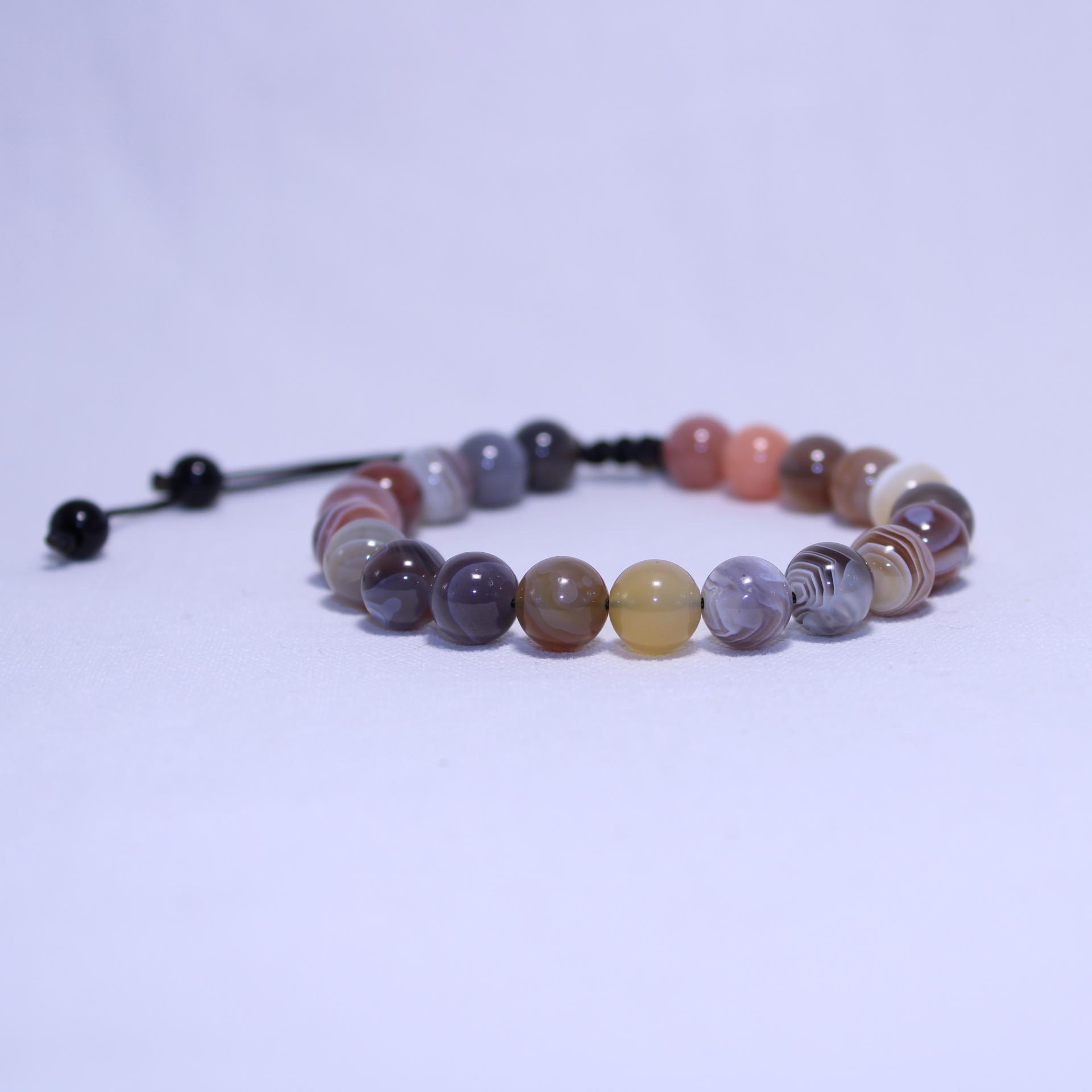 Bracelet agate i24 4