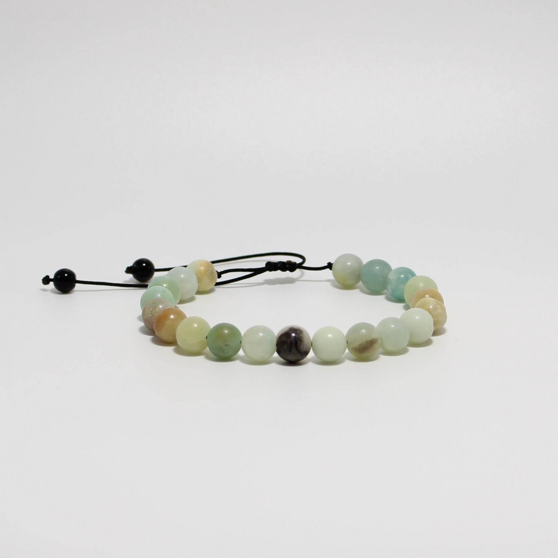 I13 bracelet amazoniteb