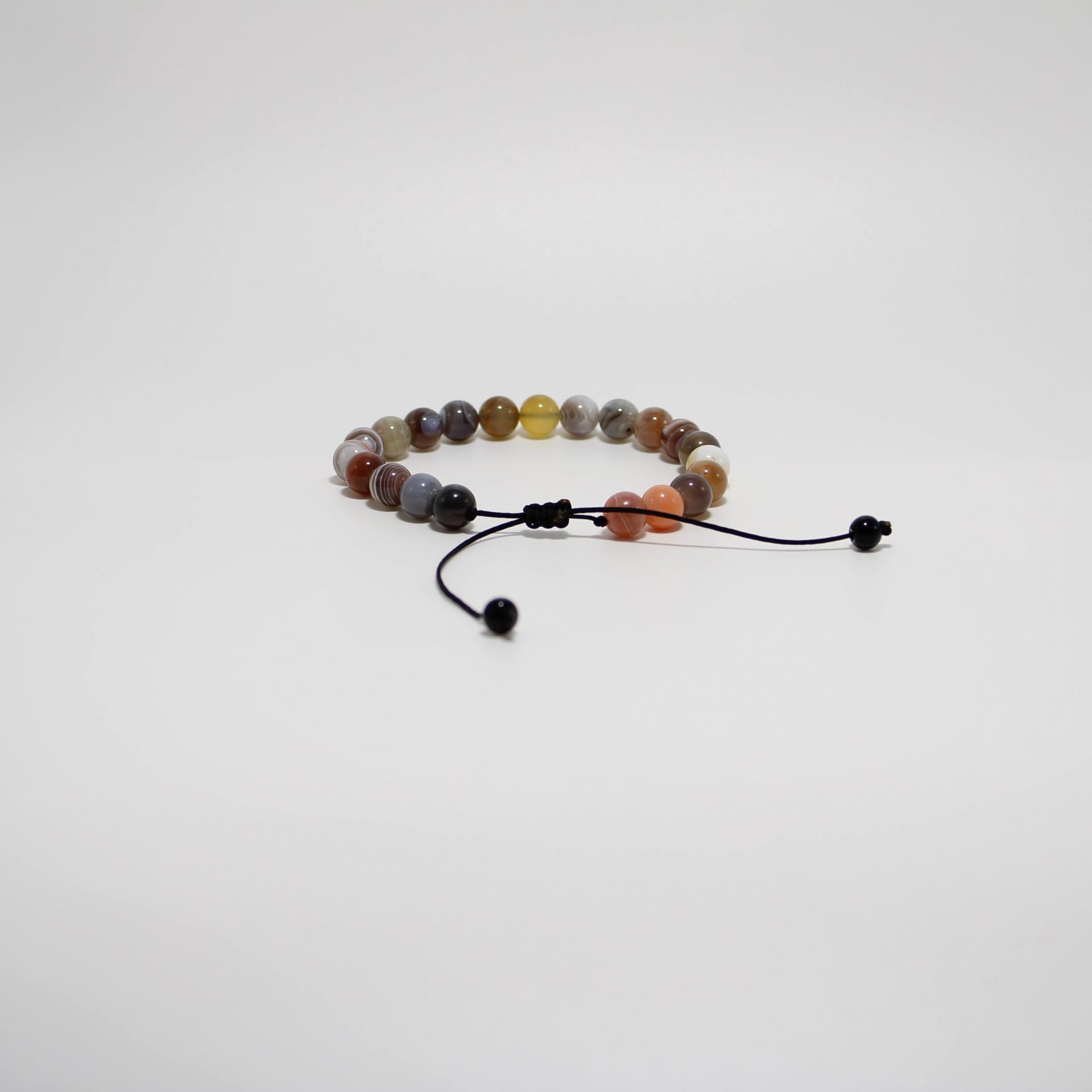 I24 bracelet agate boswana 3