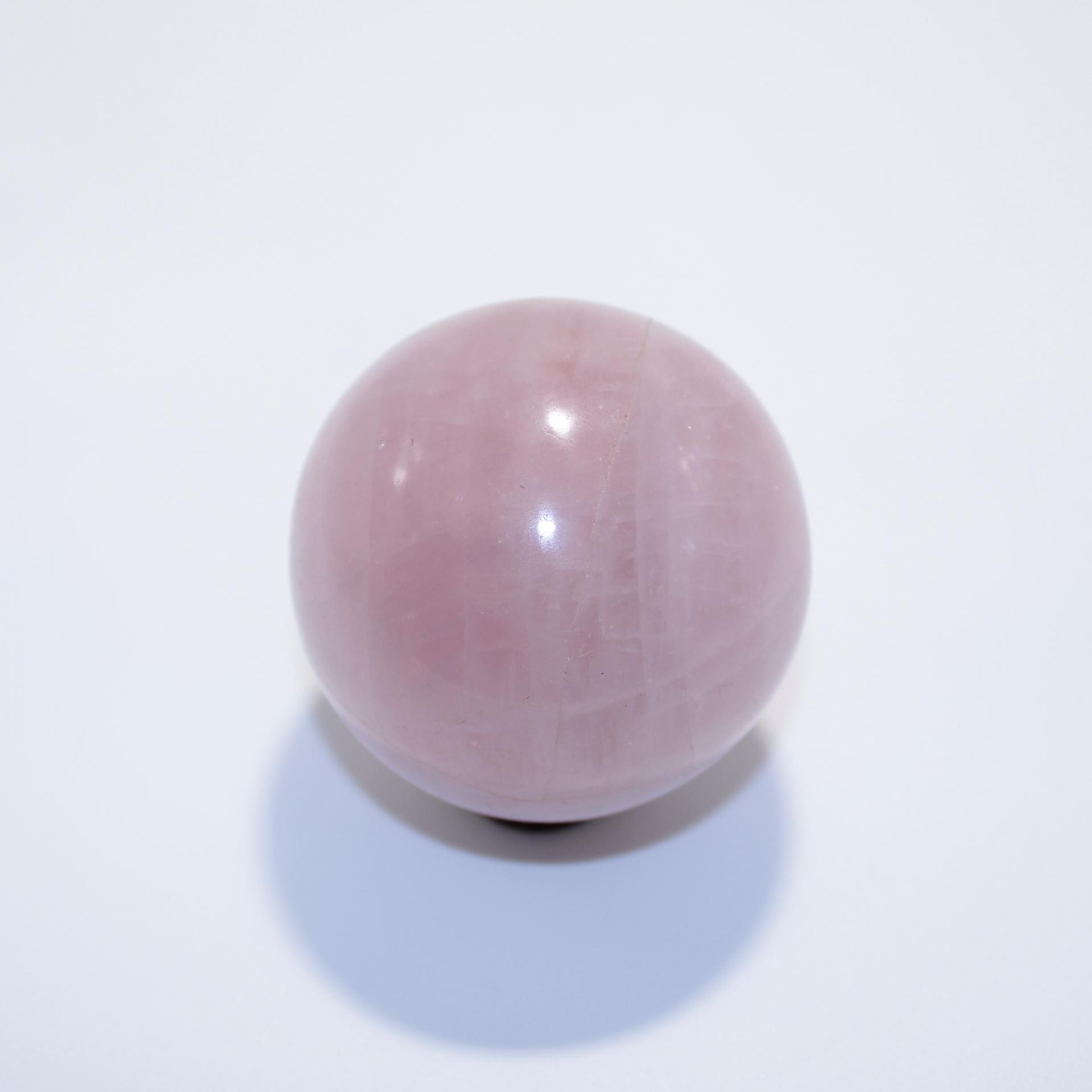 J11 sphere quartz rose 1