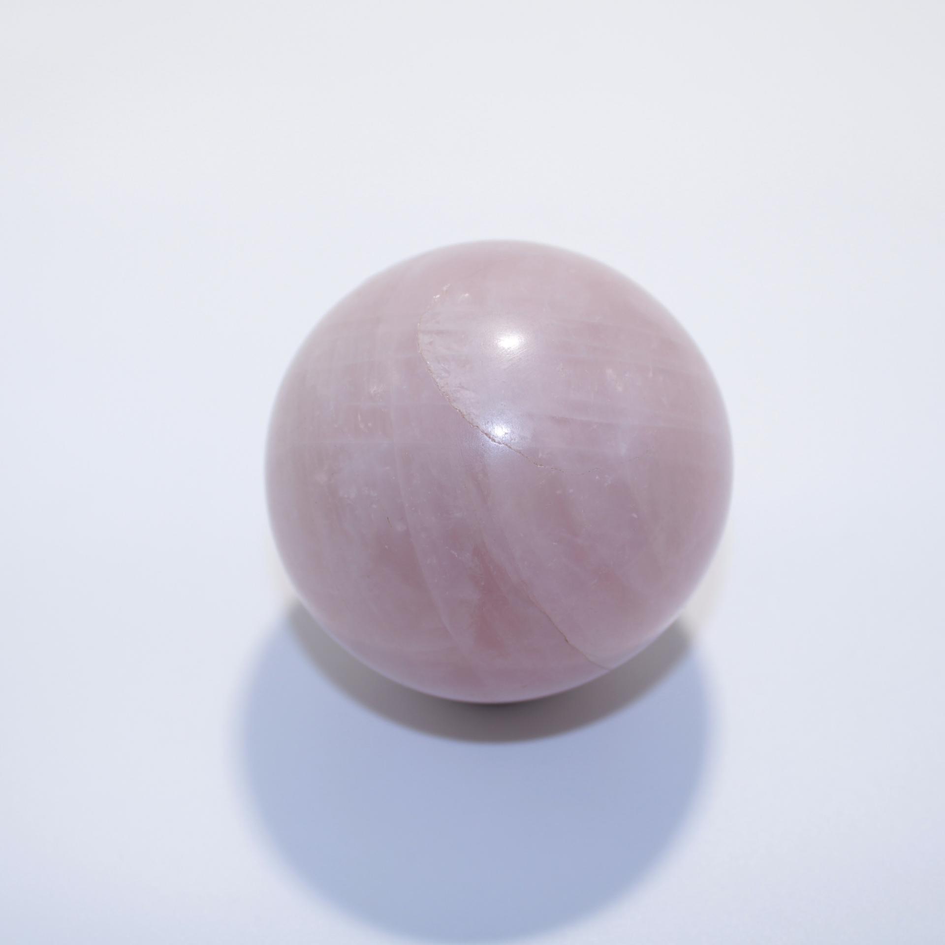 J11 sphere quartz rose 2