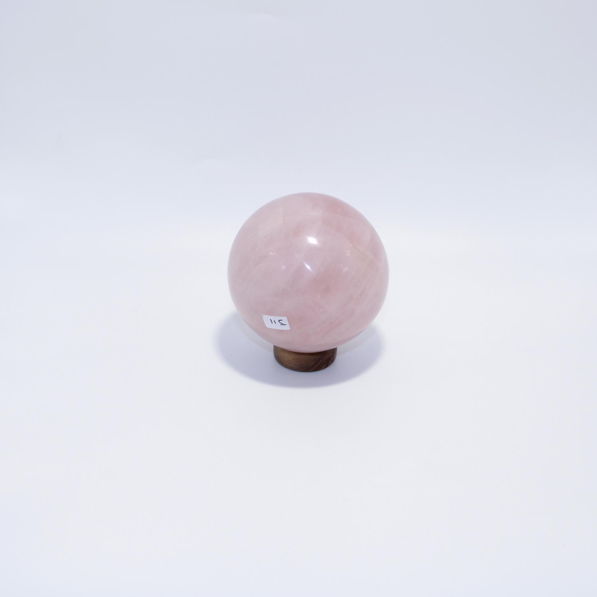J11 sphere quartz rose 4