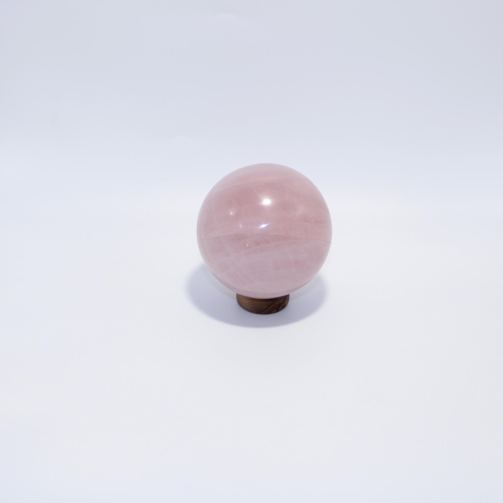 J11 sphere quartz rose 5