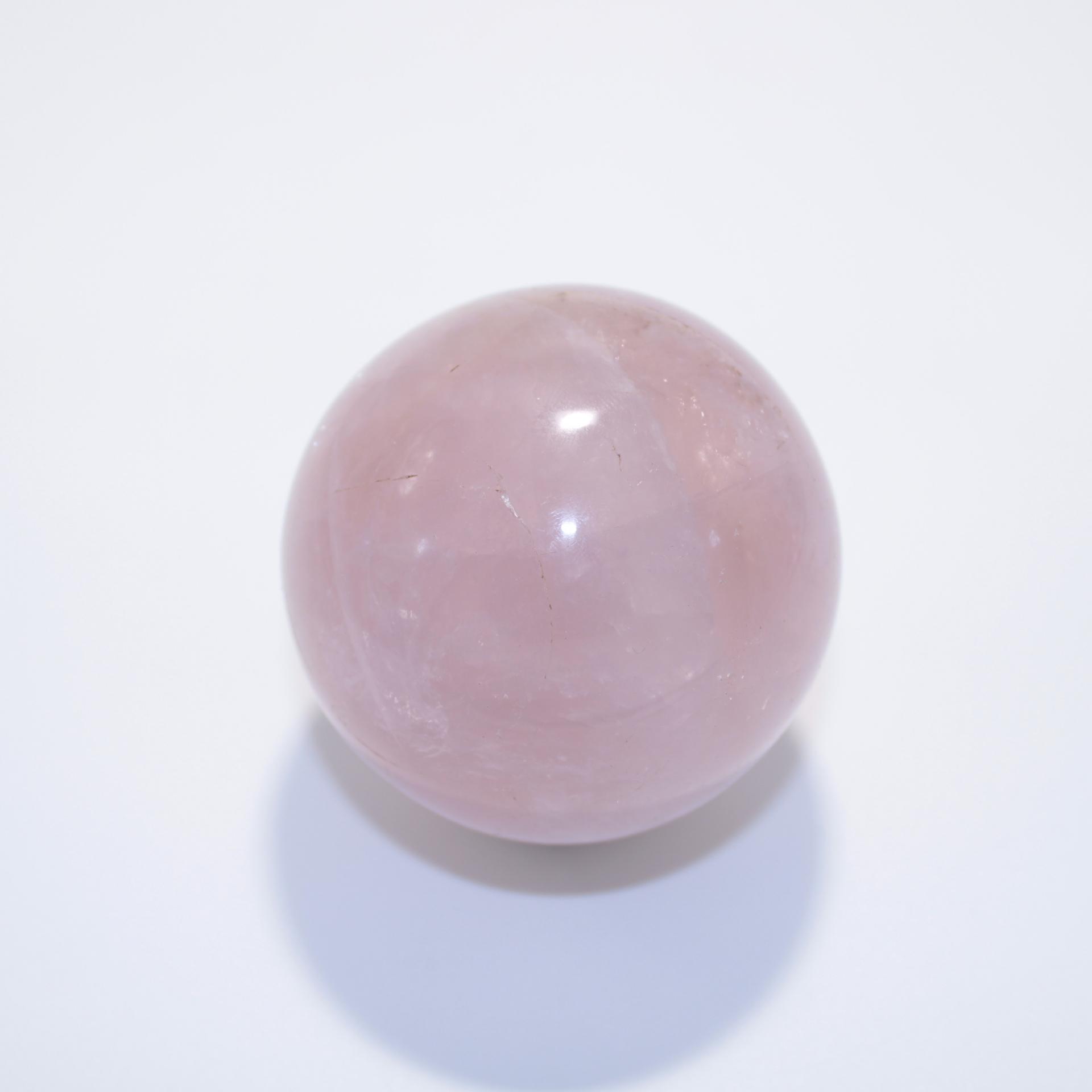 J12 sphere quartz rose 2