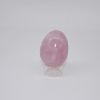 J66 oeuf quartz rose 1