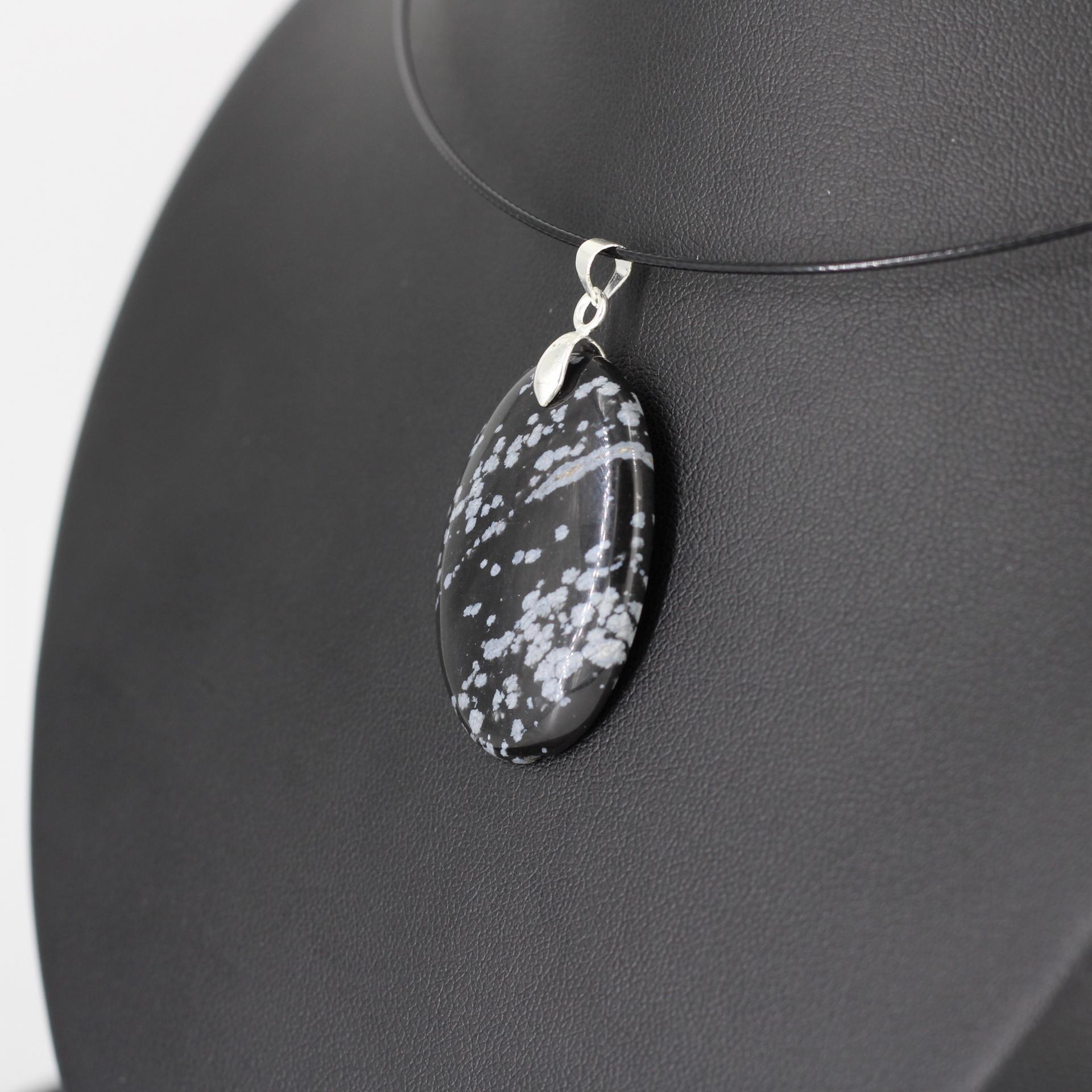 Obsidienne flocon m59 3