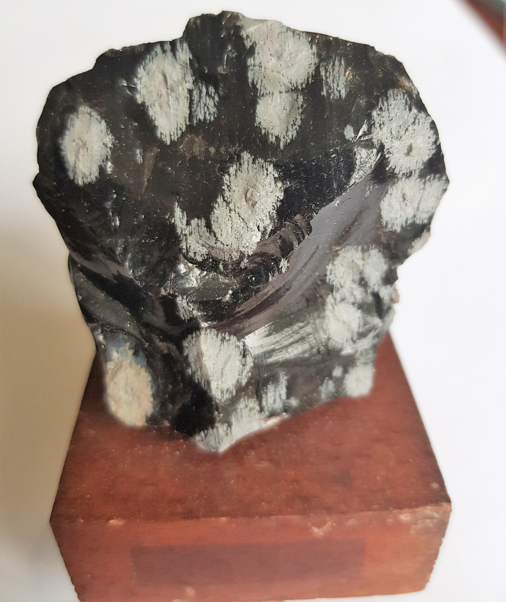 Obsidienne flocon