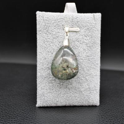 Pendentif pierre lodolite 10