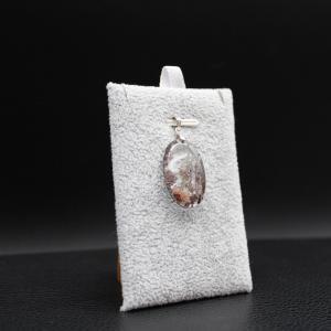 Pendentif pierre lodolite 20