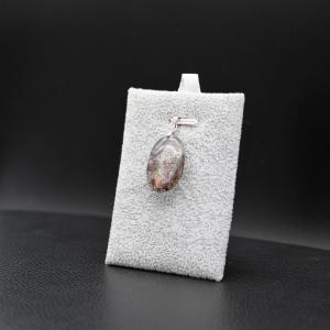 Pendentif pierre lodolite 21