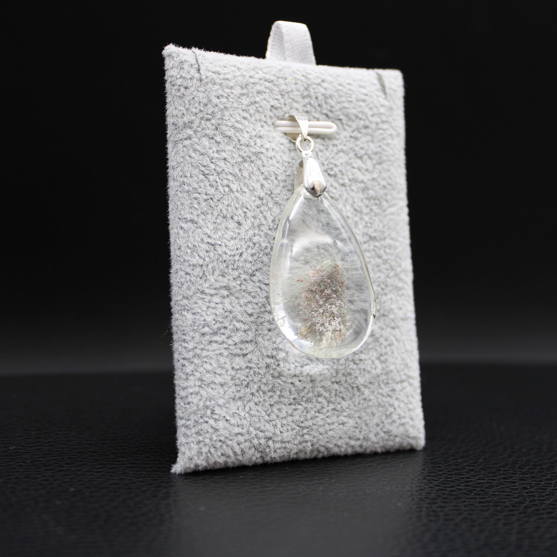 Pendentif pierre lodolite 26