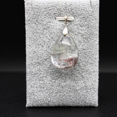Pendentif pierre lodolite 28