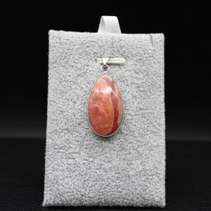 Pendentif pierre rhodochrosite 56