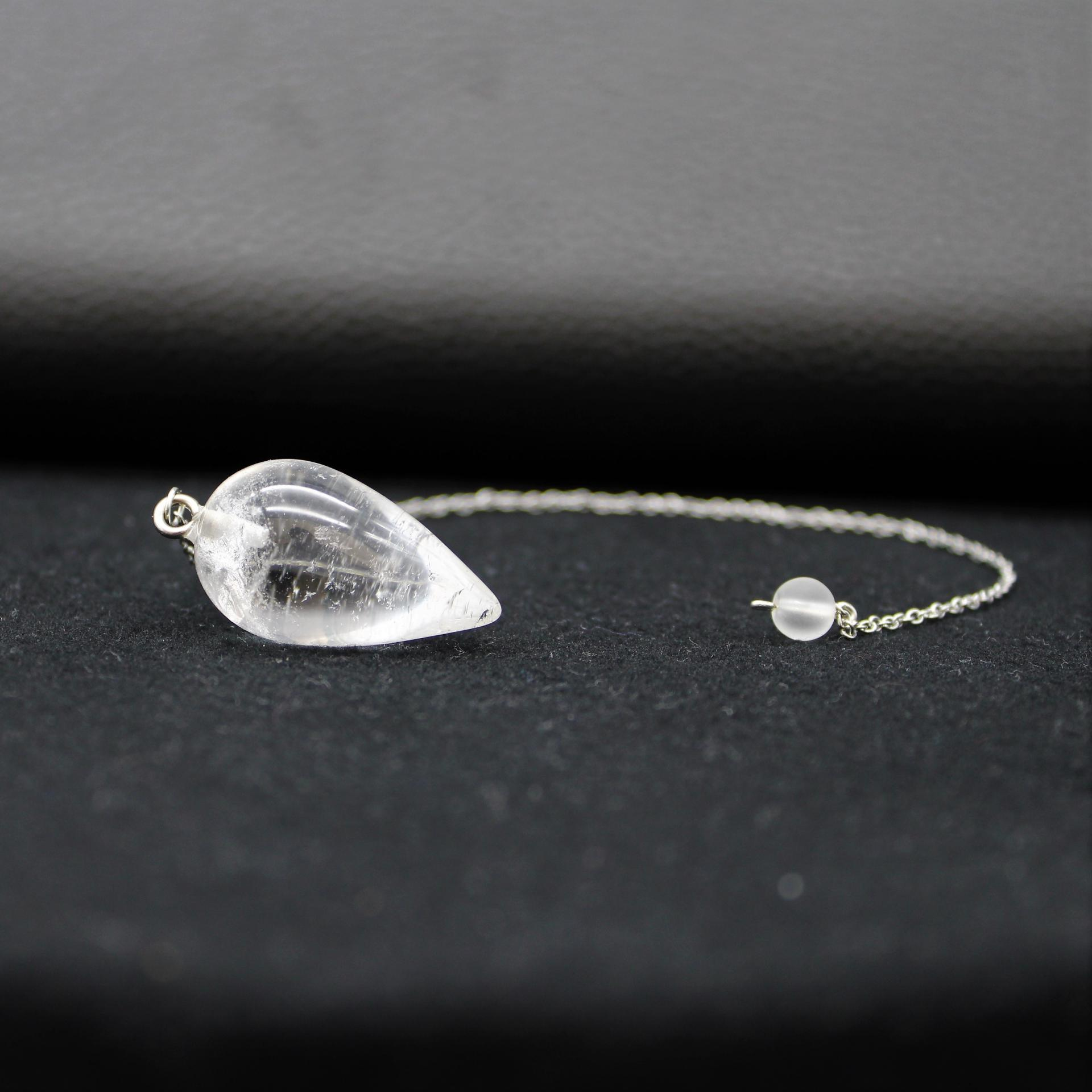 Pendule cristal de roche 2