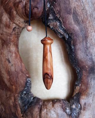 Pendule en olivier 1