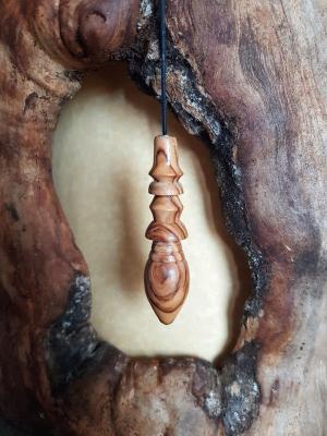 Pendule en olivier 13