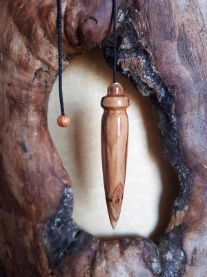 Pendule en olivier 30