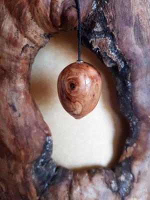 Pendule en olivier 56