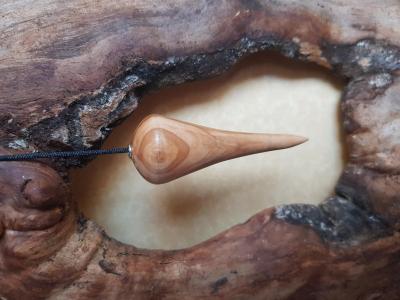 Pendule en olivier 58