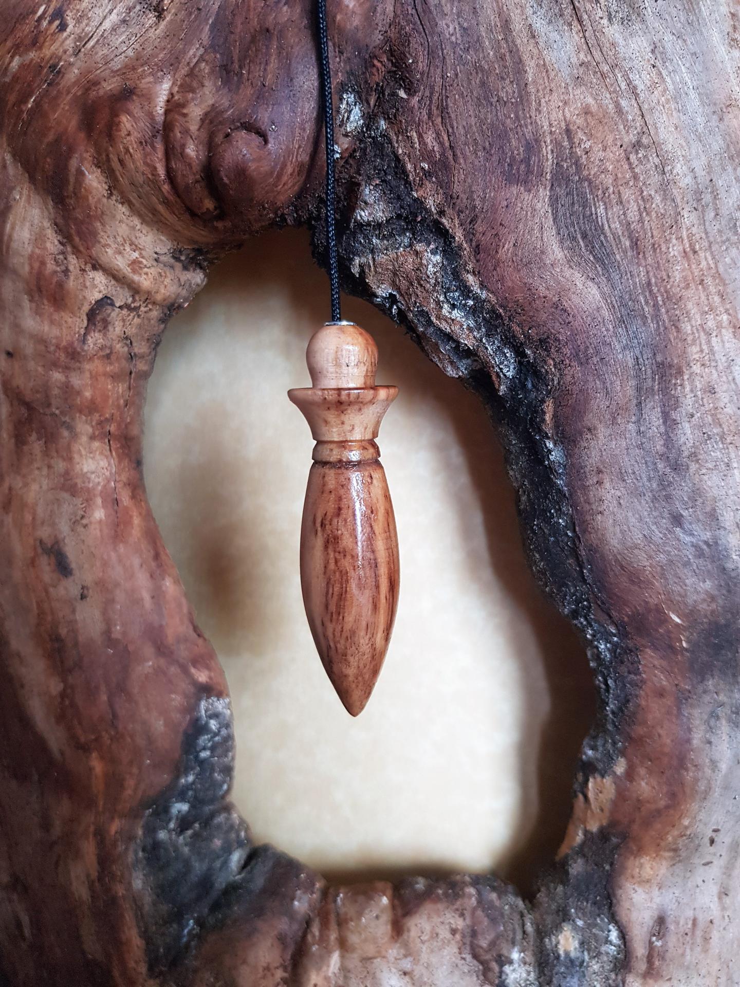 Pendule en olivier 6