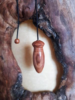 Pendule en olivier 72