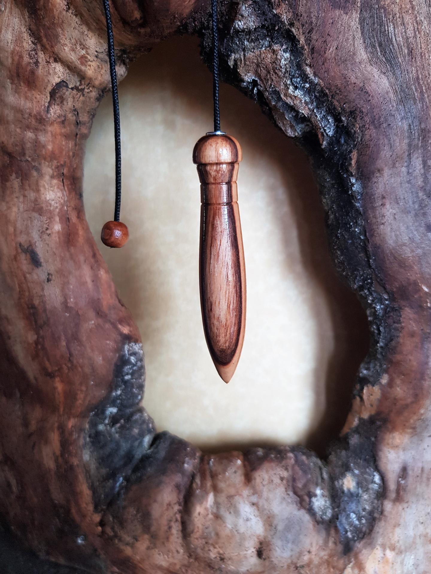 Pendule en olivier 8