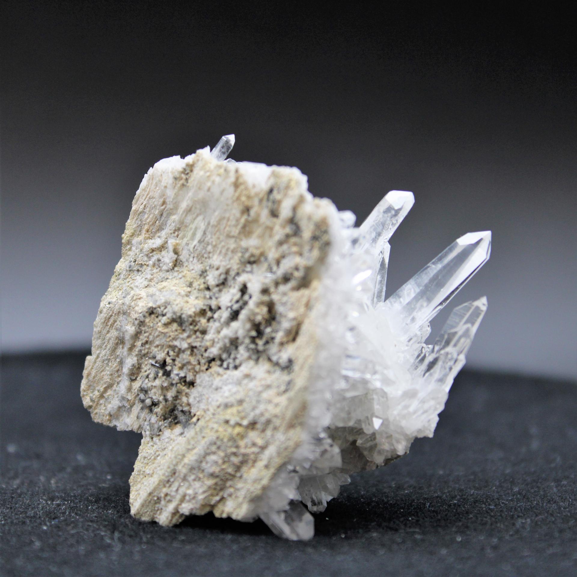 Quartz cristal colombie 85