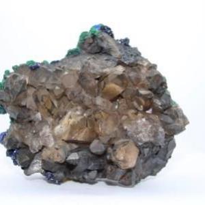 Quartz fume malachite azurite e94 1