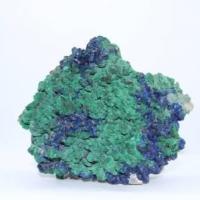 Quartz fume malachite azurite e94 2