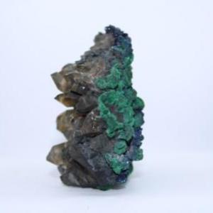 Quartz fume malachite azurite e94 3