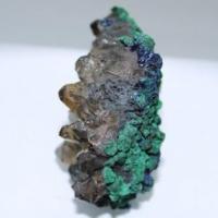 Quartz fume malachite azurite e94 4