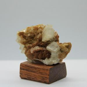 Siderite adulaire quartz h40 3