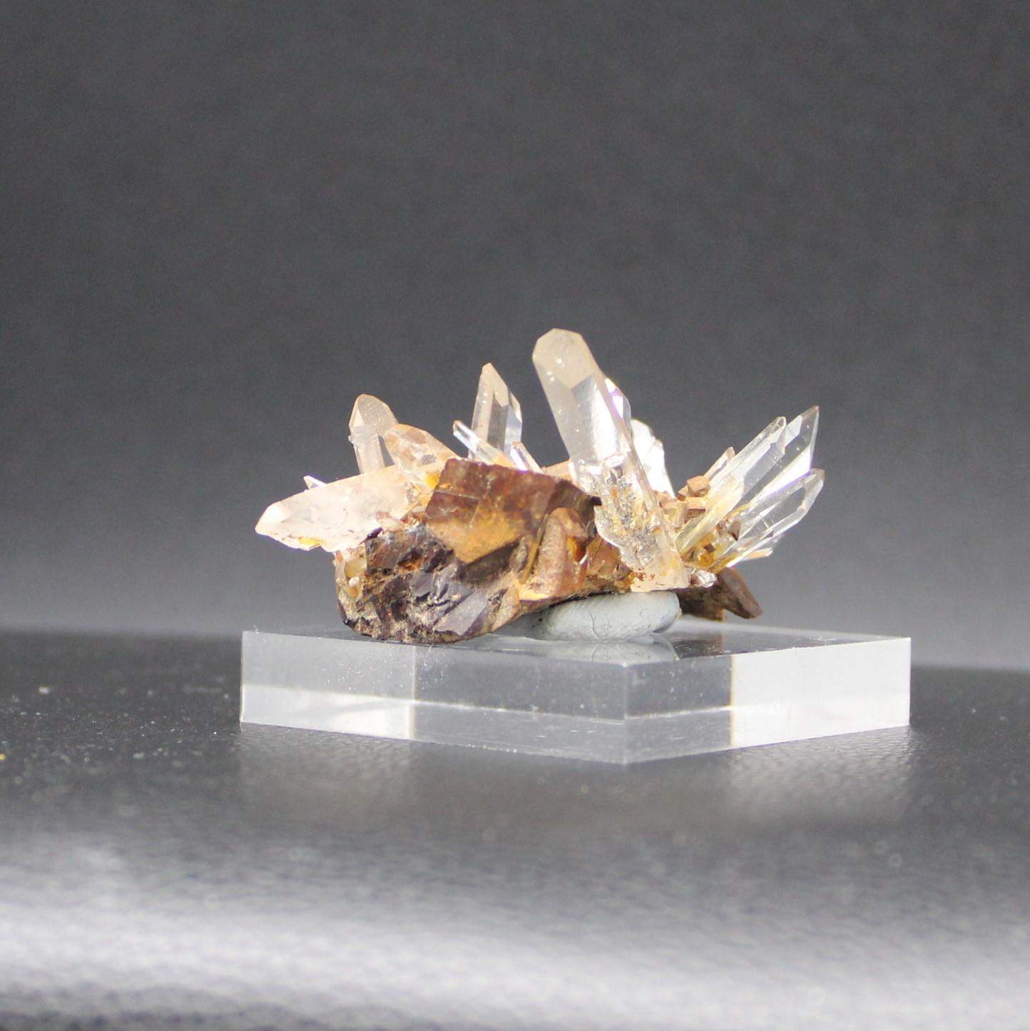 Siderite quartz 7
