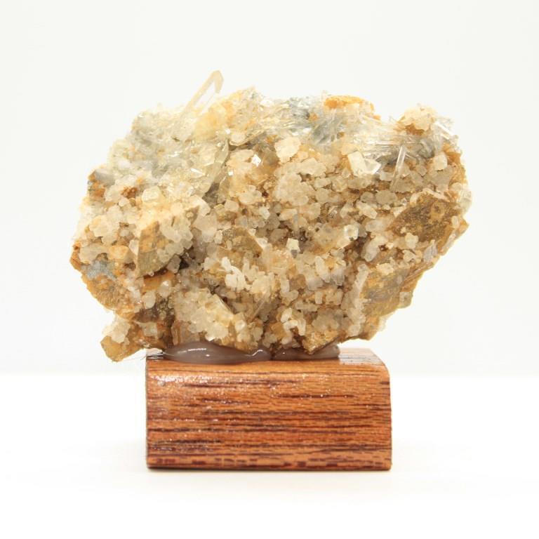 Siderite quartz adulaire h38 1