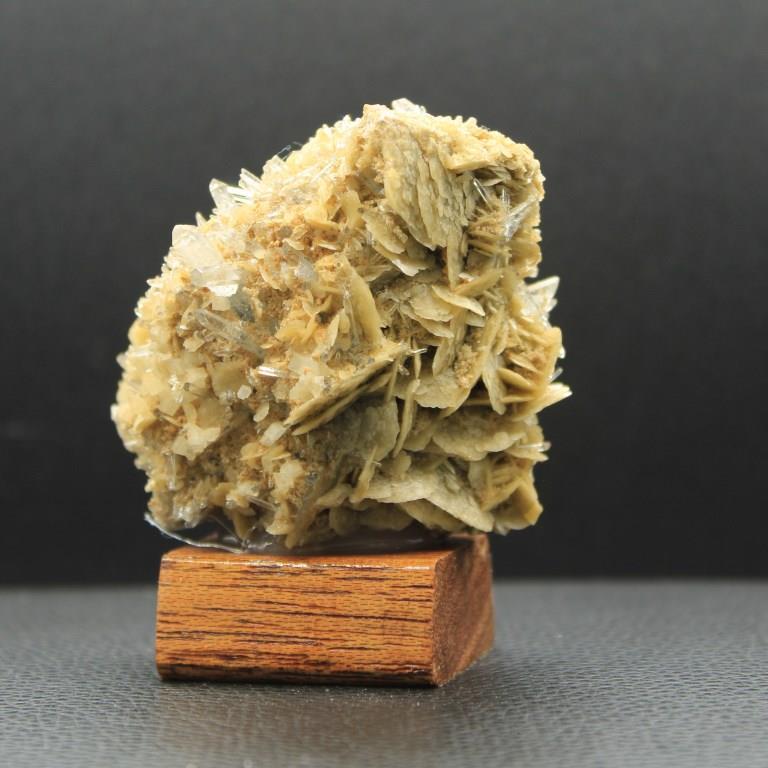 Siderite quartz adulaire h42 2