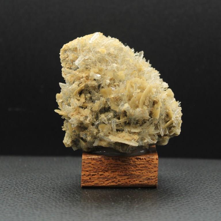 Siderite quartz adulaire h42 3