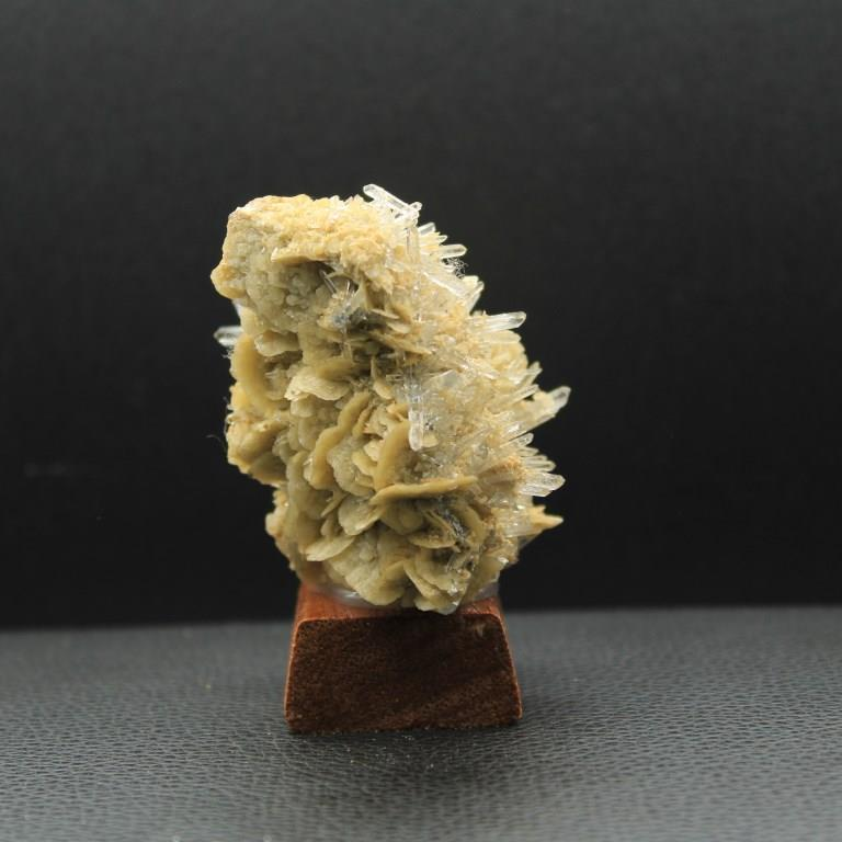 Siderite quartz adulaire h42 4